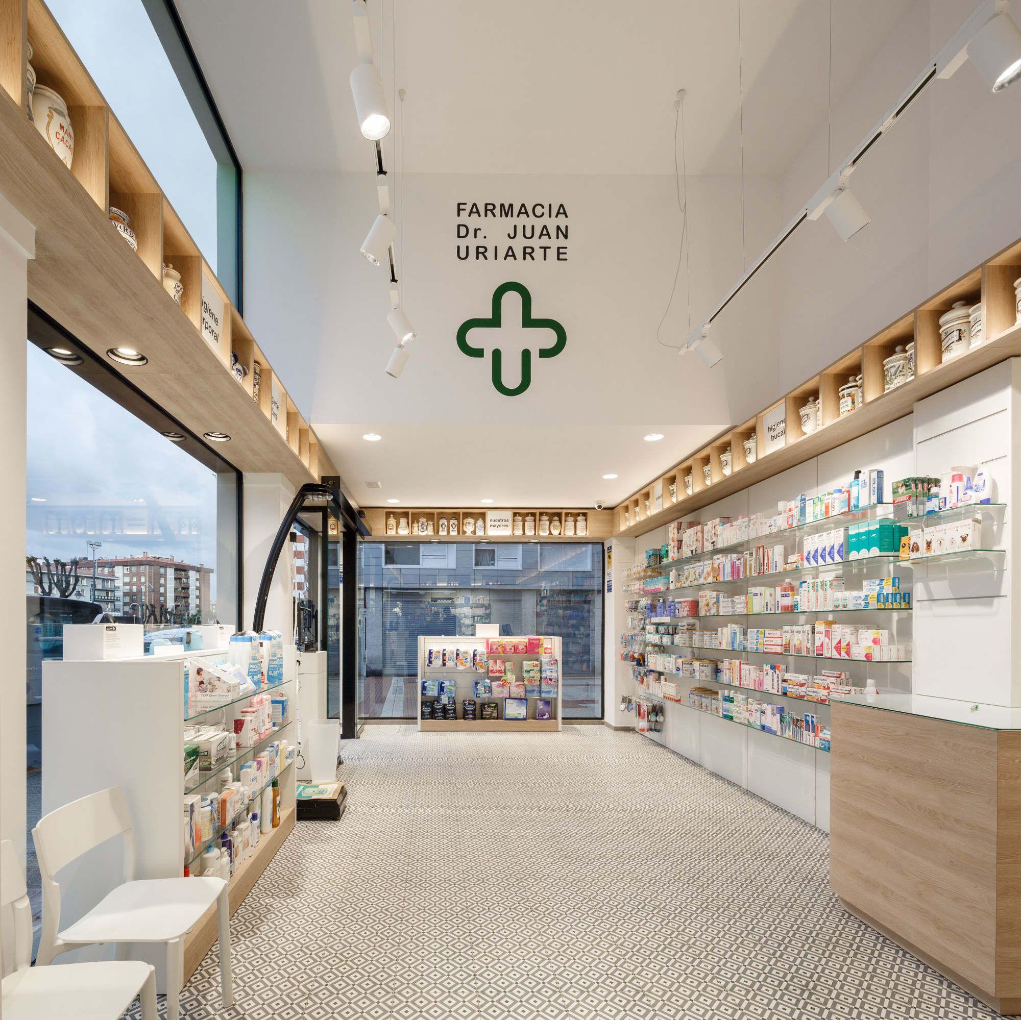 Farmacia dr juan uriarte bilbao enrique polo estudio - Estudio arquitectura bilbao ...
