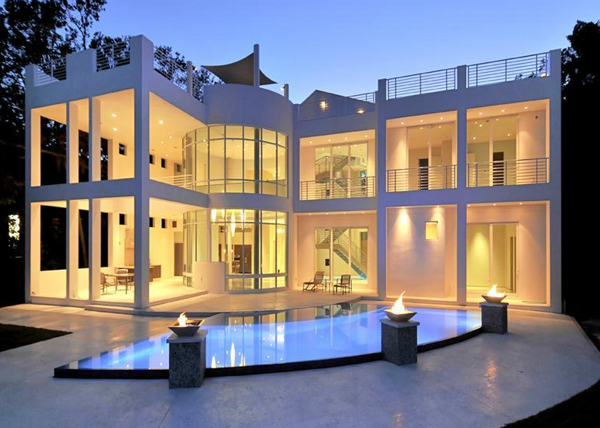Untitled Contemporary House Design Luxury House Designs Unique House Plans