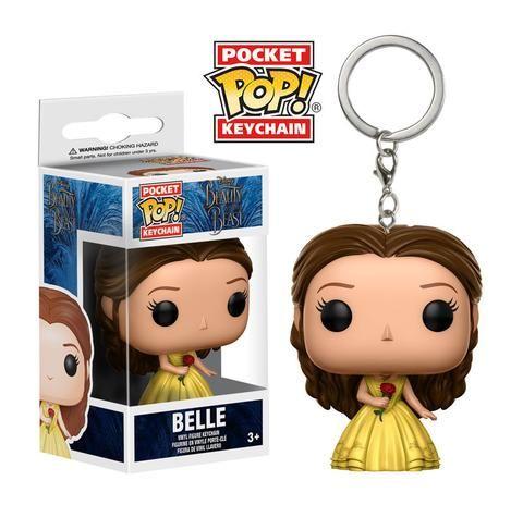 Pocket Pop Keychain Beauty The Beast Belle Disney Beauty