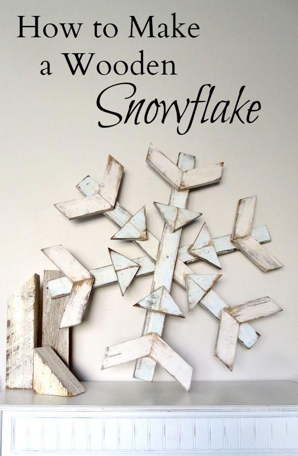 Domain Expired Wood Snowflake Wooden Snowflakes Xmas Crafts