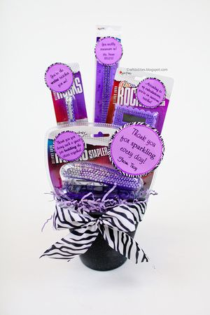 cute teacher appreciation gift with tags office supplies they can actually use idea office s50 supplies