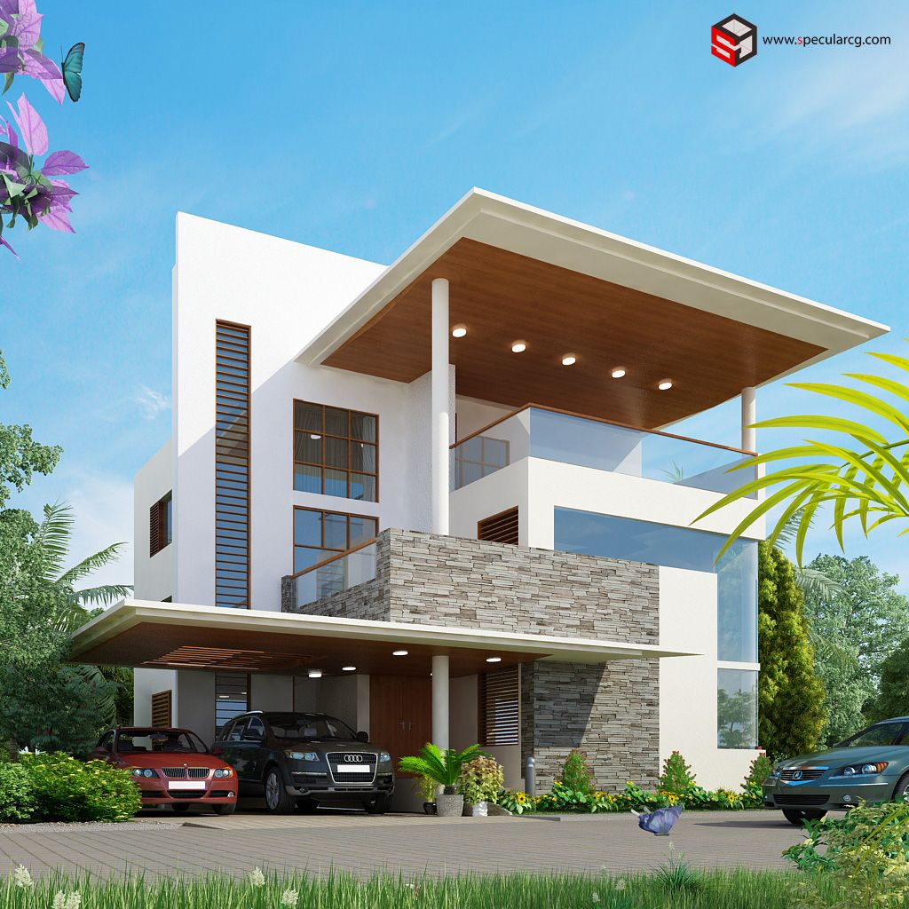 Architectural designs architecture exterior walkthroug 3d architectural exterior design