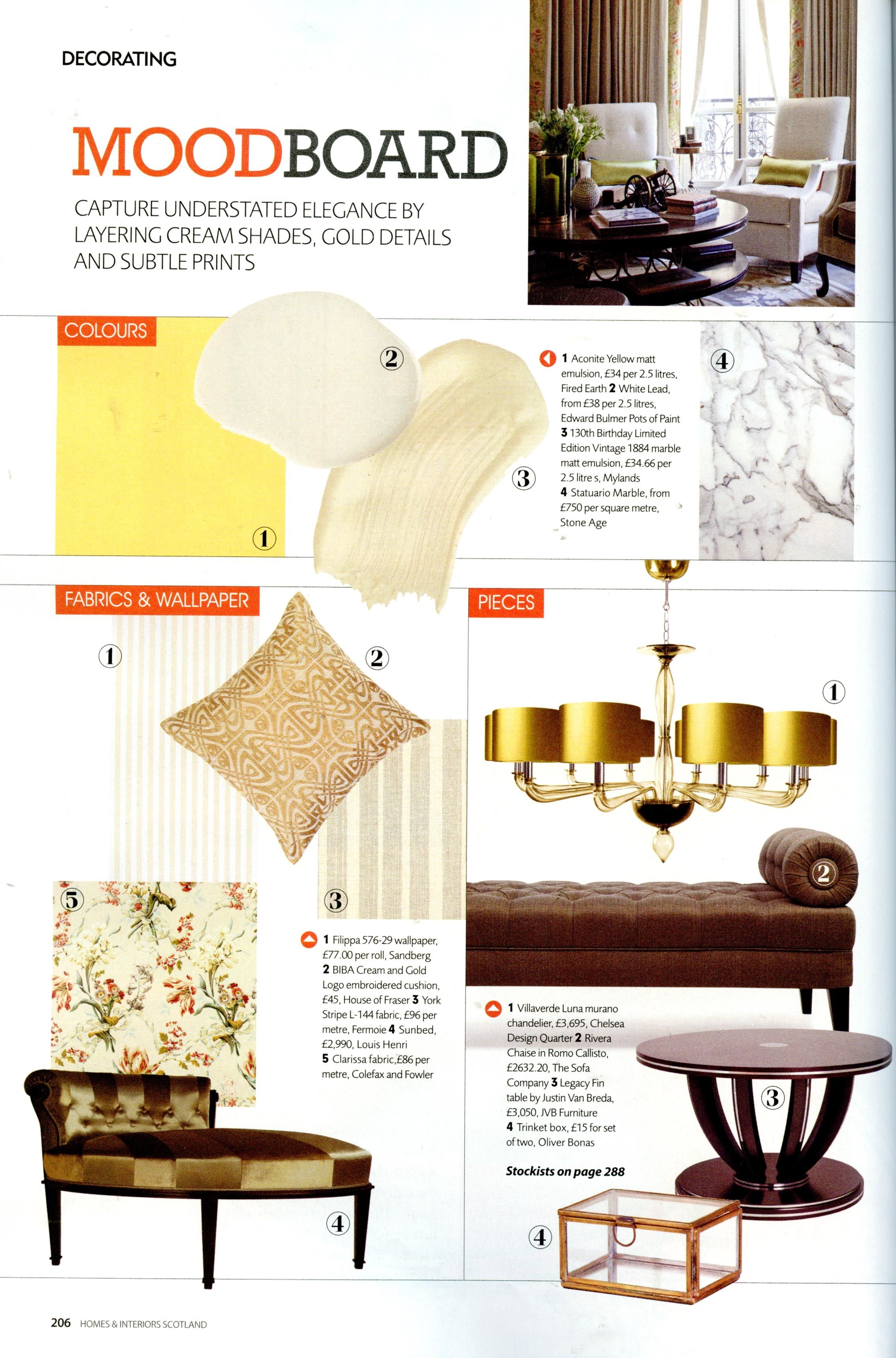 Homes and interiors scotland july to august potsofpaint also rh in pinterest