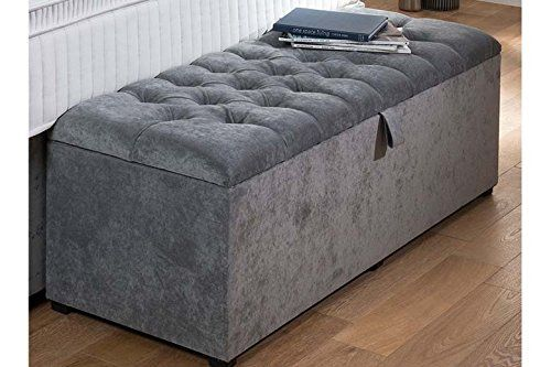 Incredible New Chesterfield Large Ottoman Storage Box Toy Box And Machost Co Dining Chair Design Ideas Machostcouk