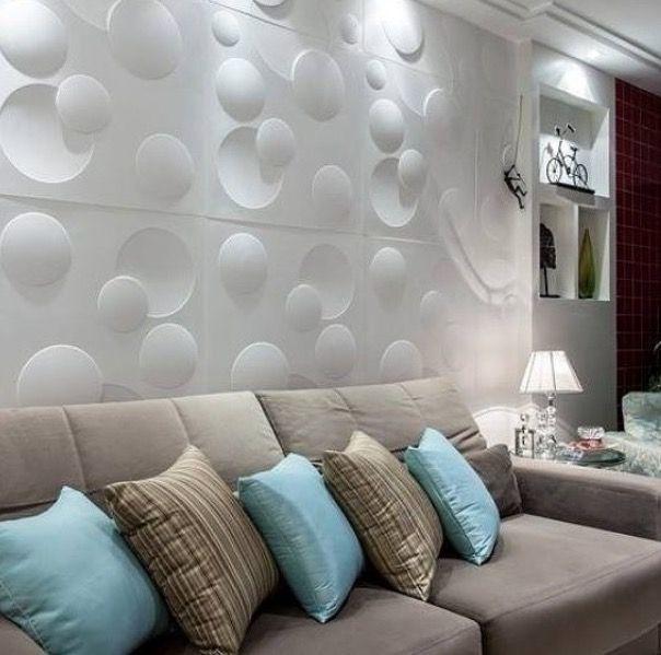 d corer les murs avec des panneaux 3d facile et pas cher 20 exemples d co. Black Bedroom Furniture Sets. Home Design Ideas