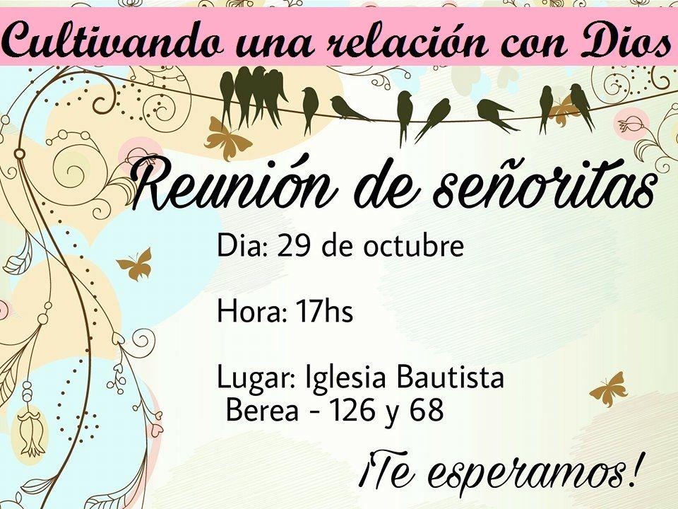 Invitación Para La Reunión Señoritas Tarjetas Tarjetas