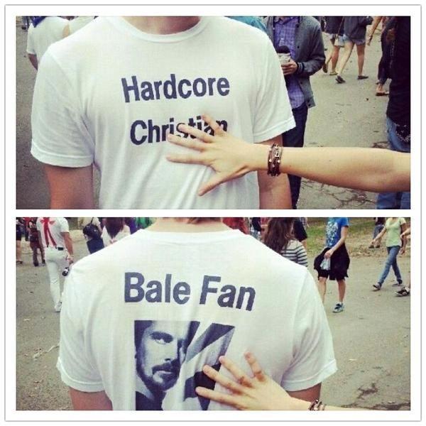 Harcore Christian..Bale fan.