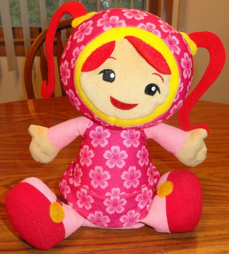 Details About Team Umizoomi Milli Doll Pink Nickelodeon