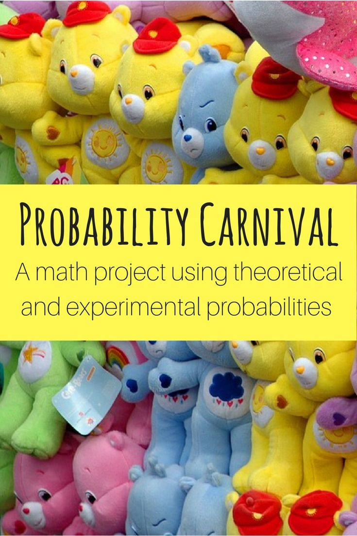 Probability Carnival Game Project Rubrics for projects