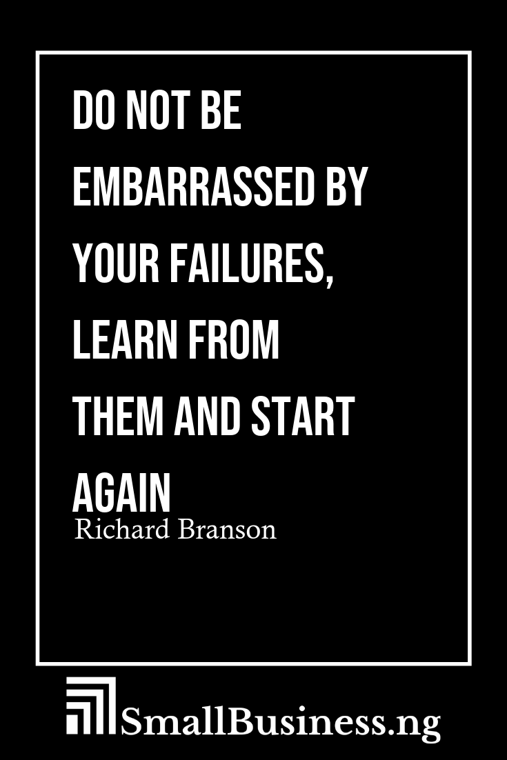 Quotes On Business Failure Business Inspiration Quotes
