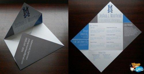 cv design format enveloppe