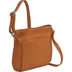 9cdc88a3ce3f Le Donne Leather Cross Body Town Bag - Tan - via eBags.com ...