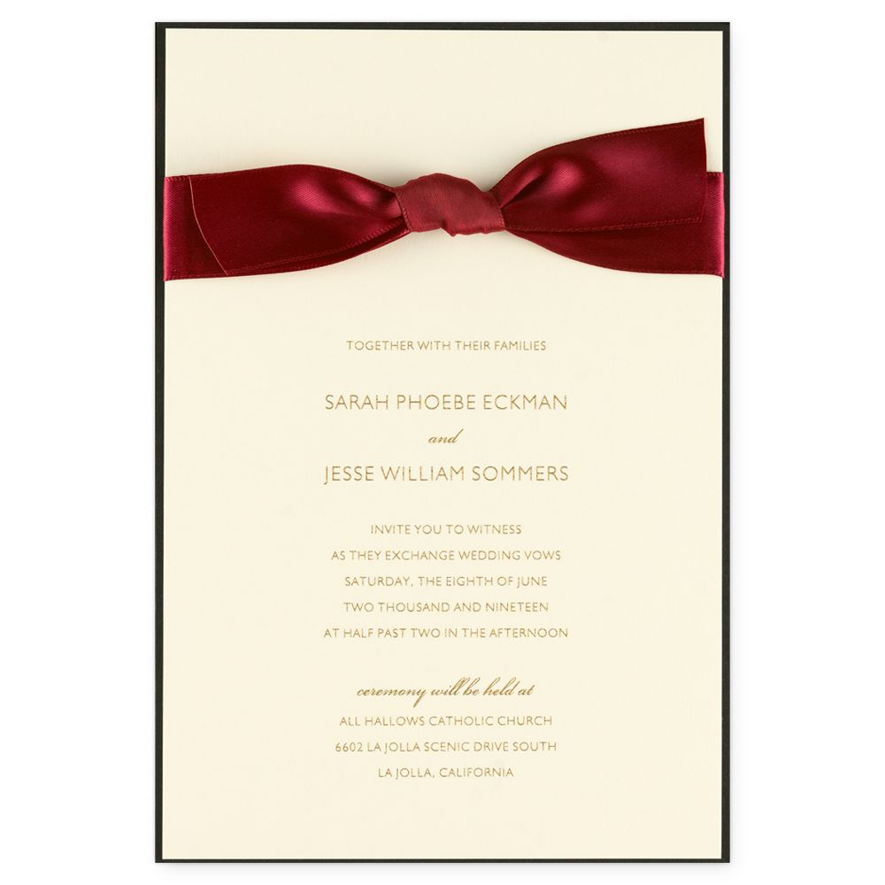 Vetiver eInvite Wedding Wedding Invitations Traditional | eInvite ...