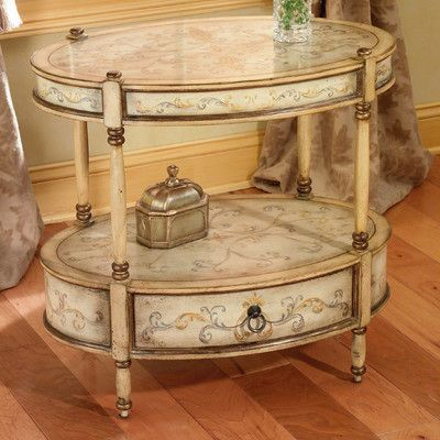 Butler Barrington Console Table Finish: Tuscan Cream