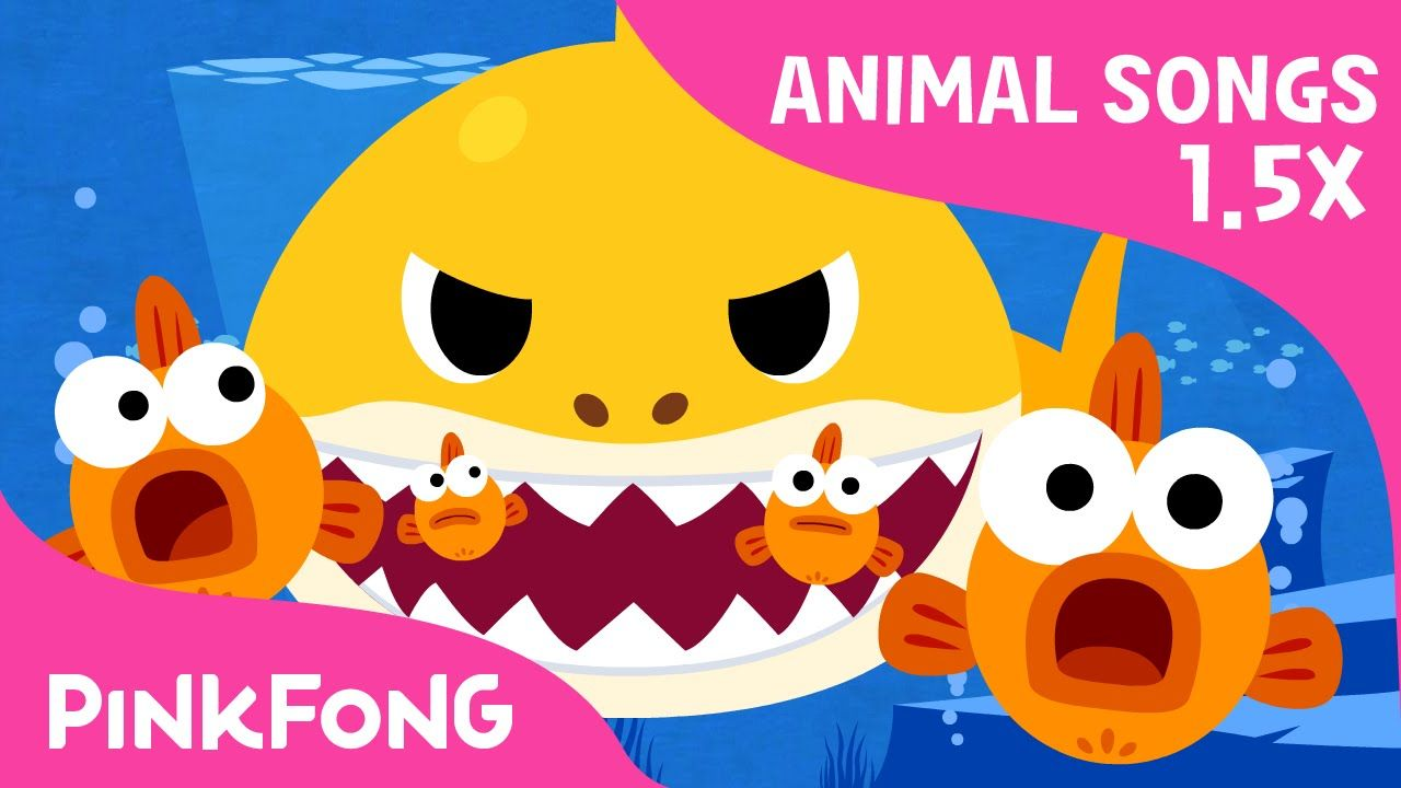 Charming FASTER Version Of Baby Shark | Faster And Faster! | Animal Songs | PINKFONG  Songs