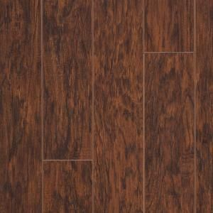 hampton bay enderbury hickory laminate flooring..has the hand