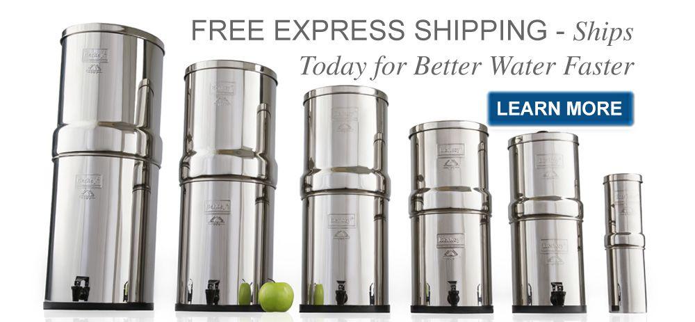 Shipping With Images Berkey Water Filter Berkey Water Water Filter