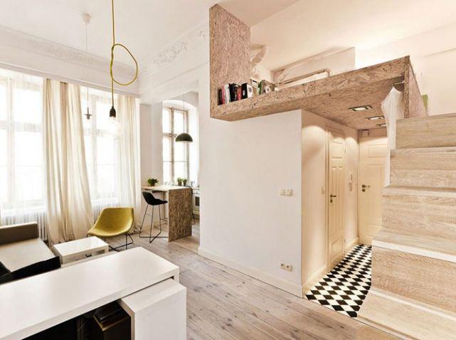Une mezzanine sous mon toit - Elle Décoration | Small spaces ...