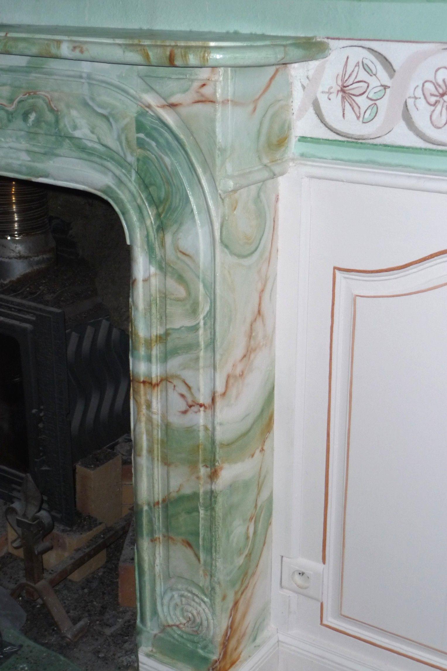 faux marbre onyx vert du m xique mati res in 2019. Black Bedroom Furniture Sets. Home Design Ideas