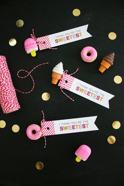 You're the Sweetest Valentine's (Free Printable) | like-the-cheese.com