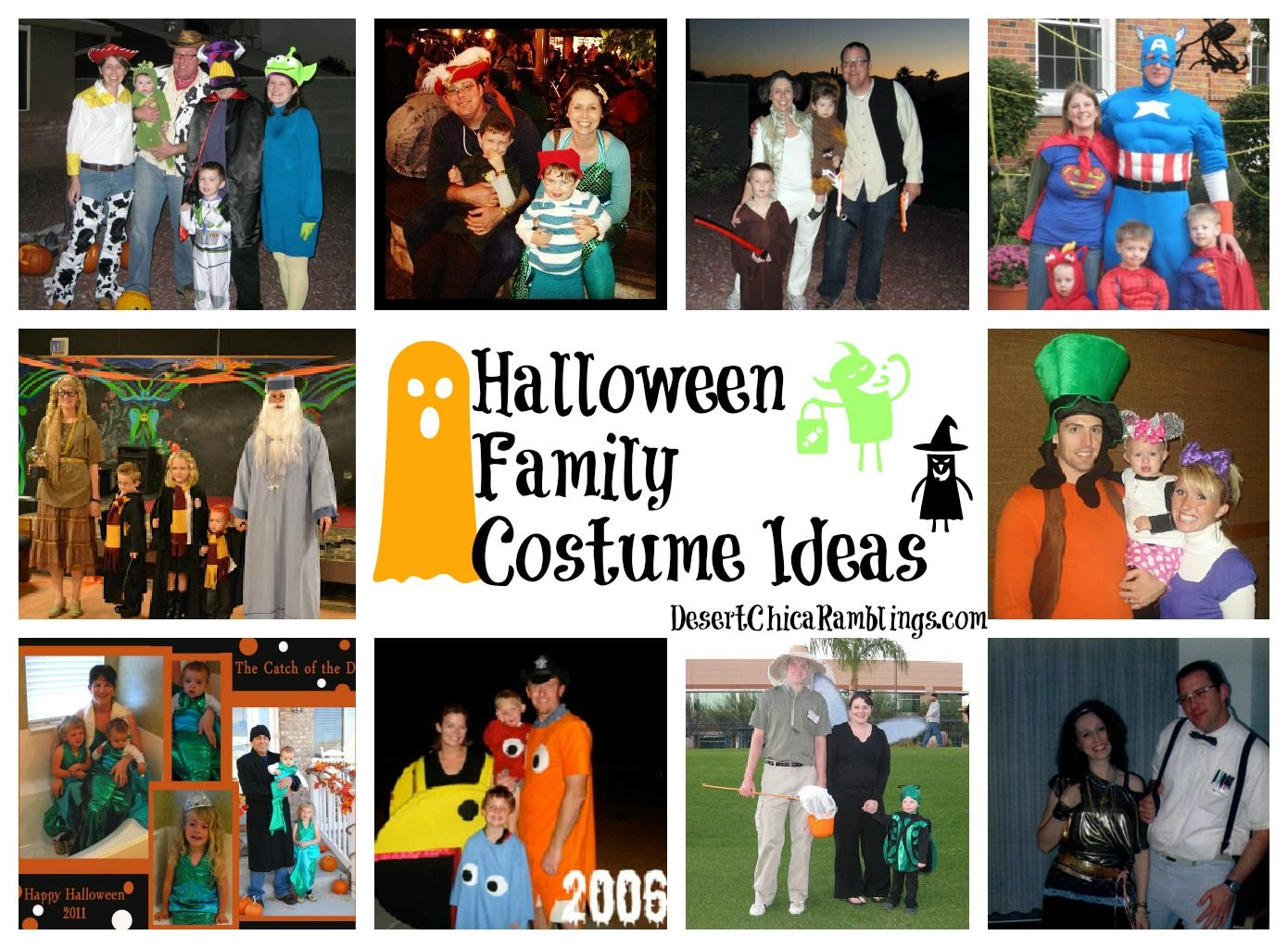 Family Halloween Costumes | Scary halloween, Halloween parties and ...