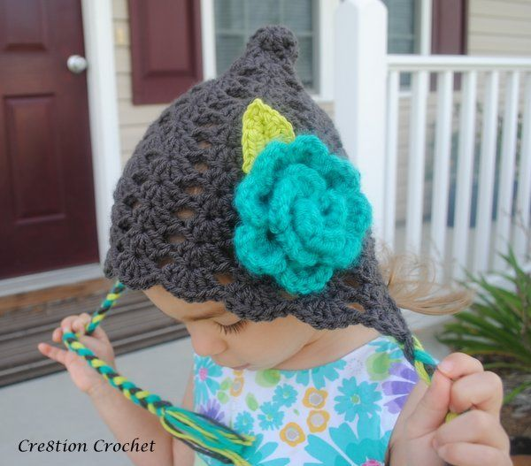 Pixie Shell Bonnets Now Available as a Paid Pattern | Pinterest ...
