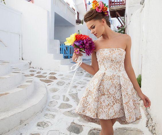 vestidos modernos para fiesta