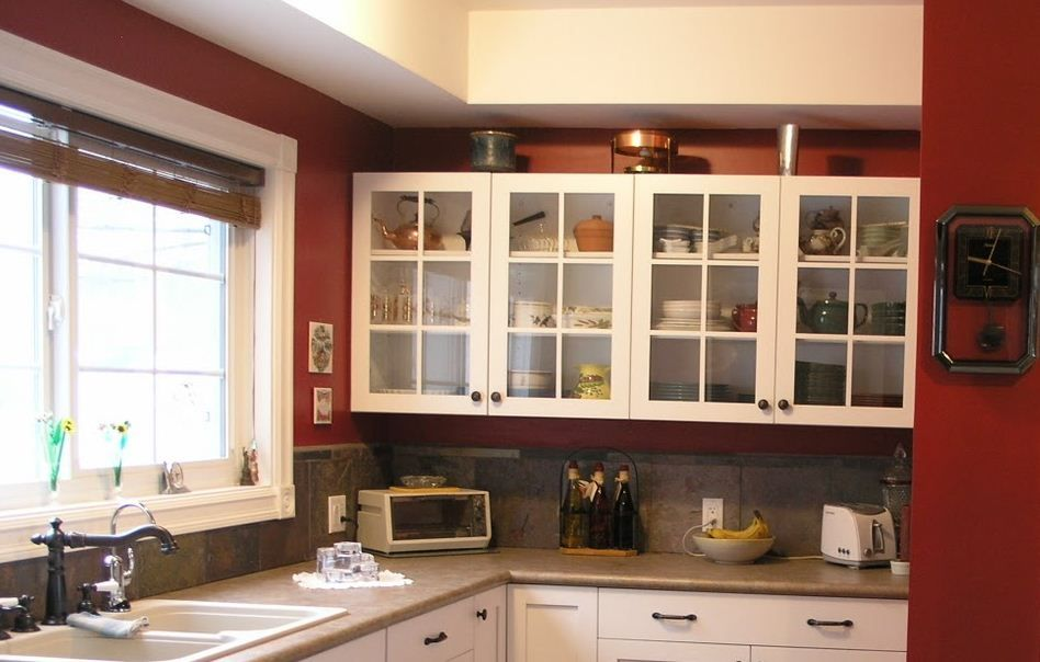 Kitchen Hanging Cabinet Design Pictures