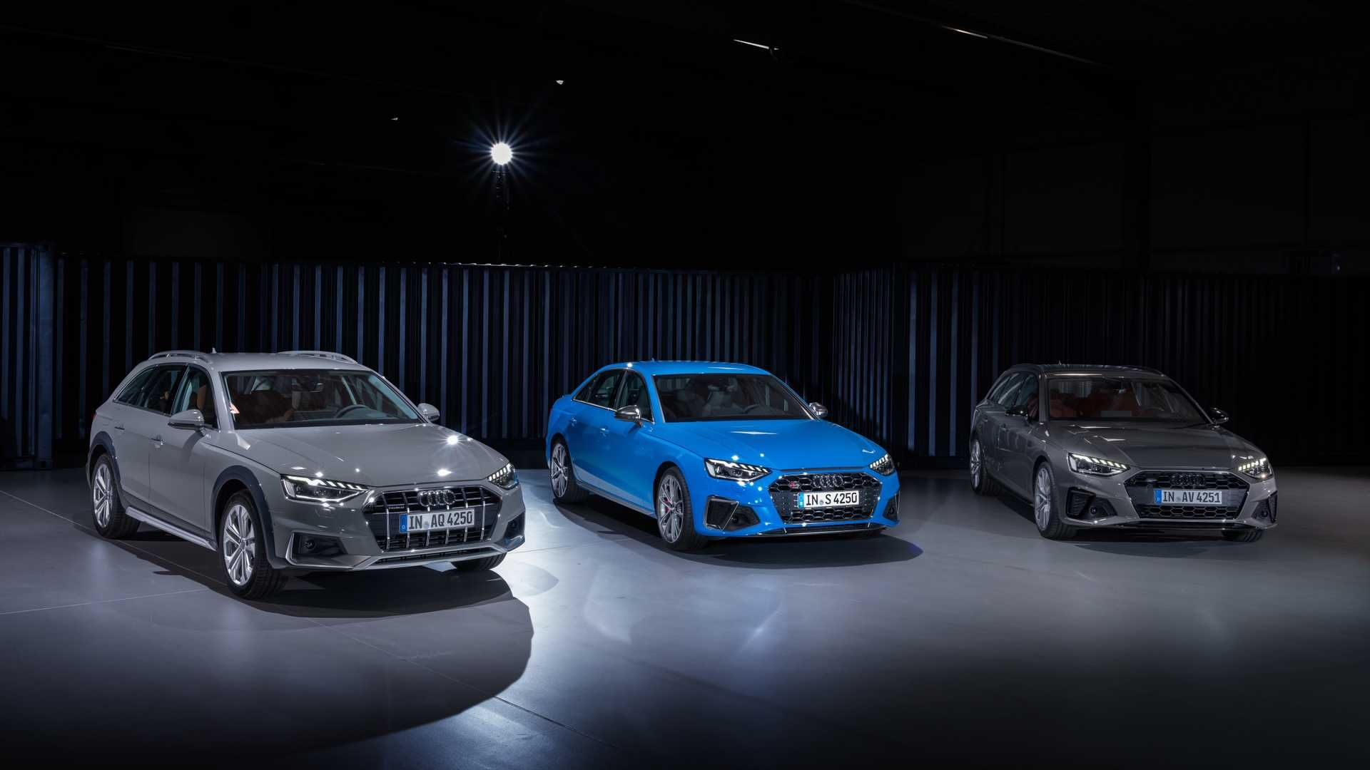 2020 Audi A4 Facelift Allroad And Avant Models Revealed Audi Sports Car Audi A4 Sports Cars Luxury