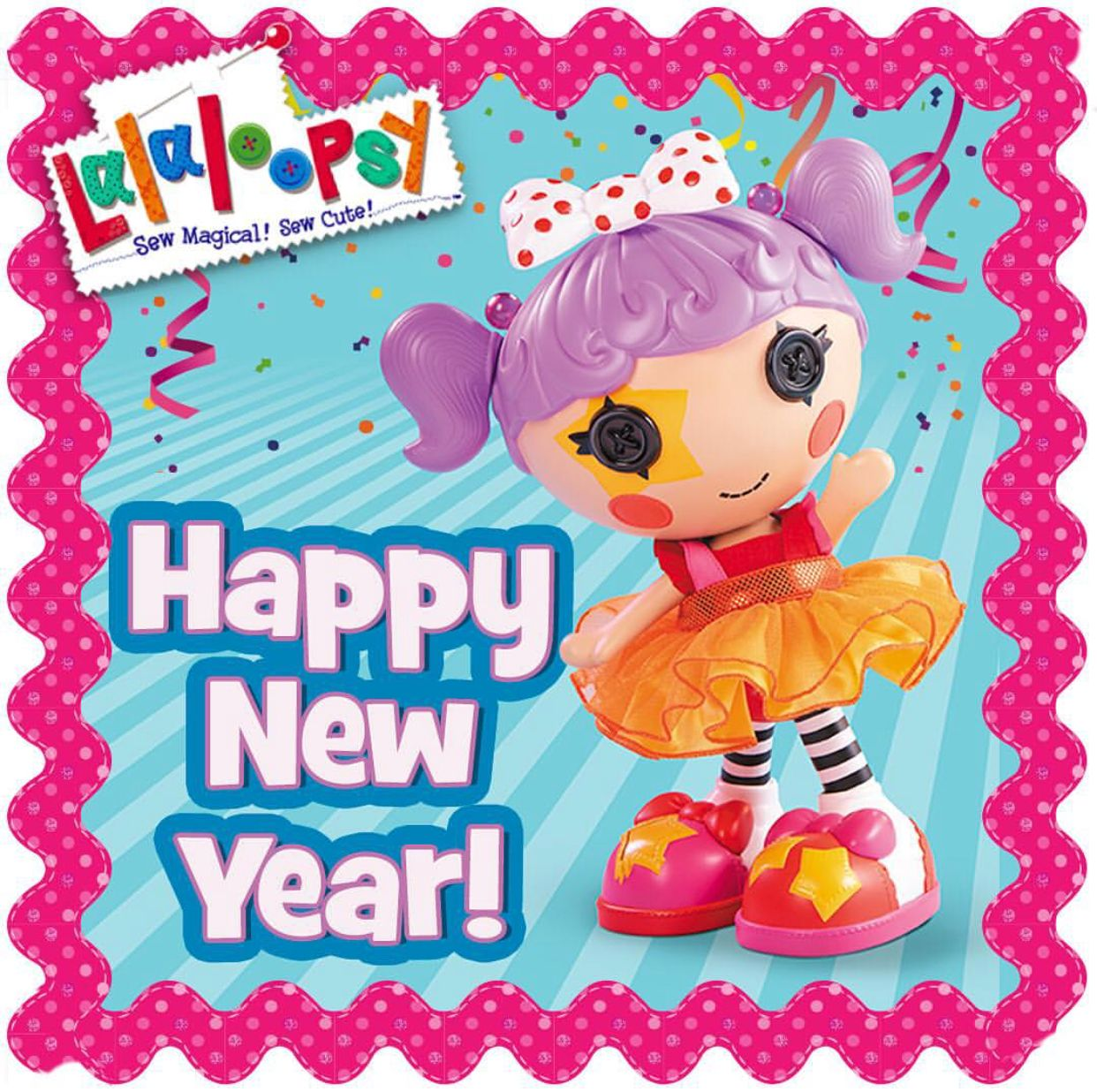 Colorful Lalaloopsy Wall Decor Embellishment - Wall Decoration Ideas ...