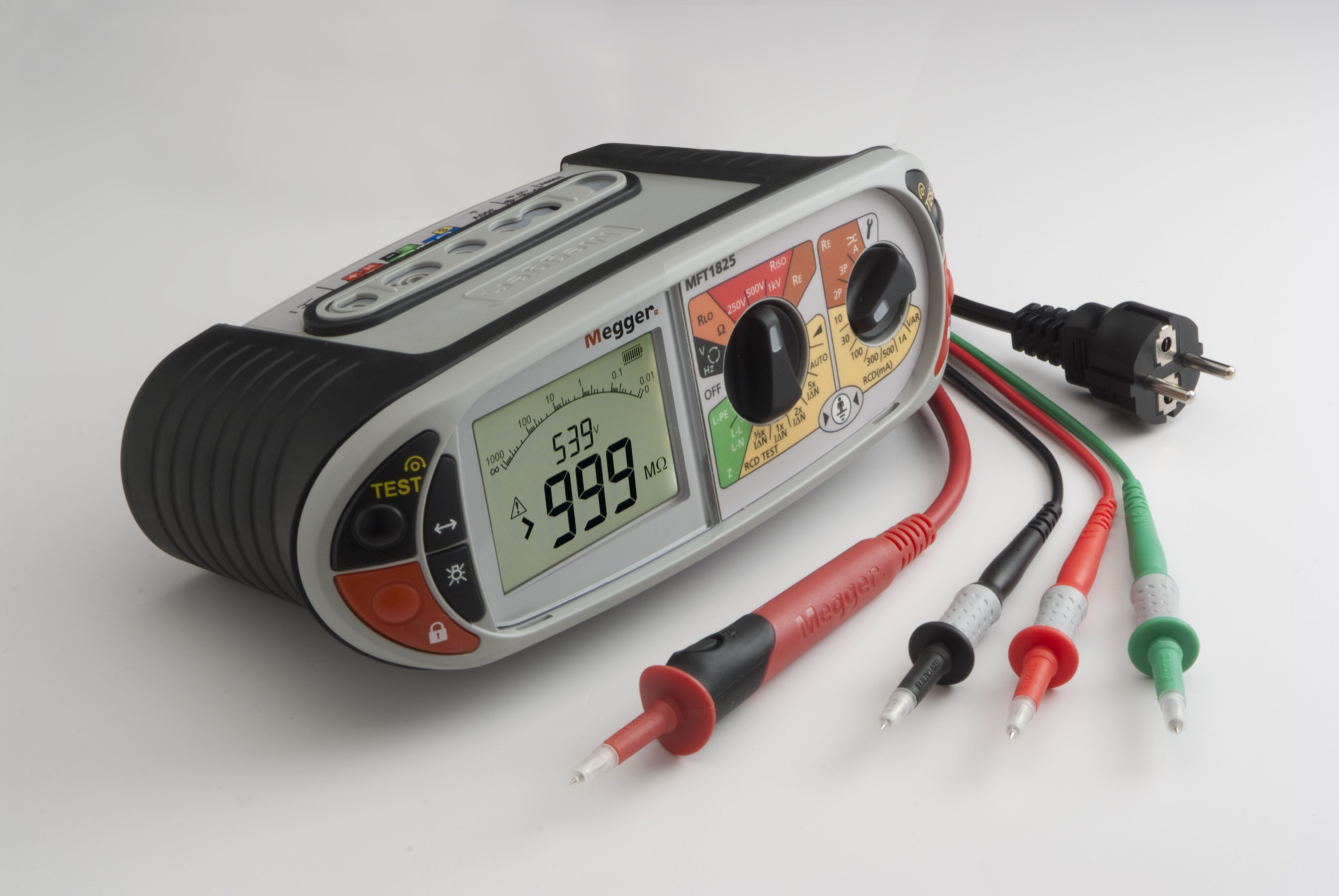 Megger Mft1825 Multifunction Tester For Checking And Certifying Electrical Installations To European Wiring Re Electrical Installation Installation Electricity