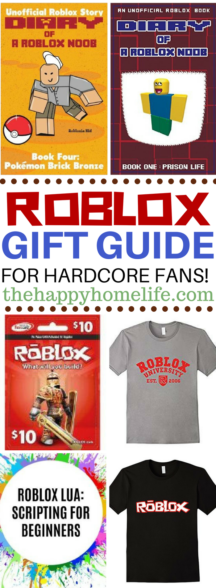 Roblox gift guide for hardcore fans gift calling all roblox fans check out this roblox gift guide to find the perfect gift baditri Gallery