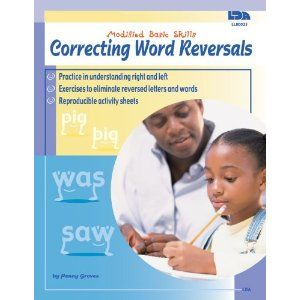 Correcting Word Reversals, Grades K - 4 (Modified Basic Skills)