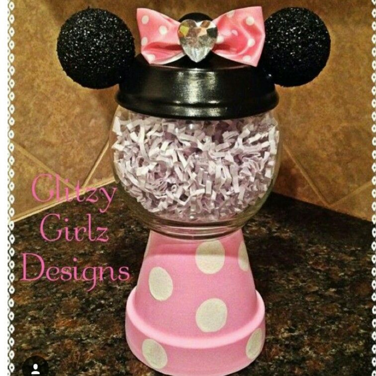 Pin by Peyton Long on Treats Clay pot crafts, Mouse