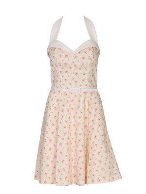 Neckholderkleid - burda   Klamotten   Pinterest   Kleid nähen ...