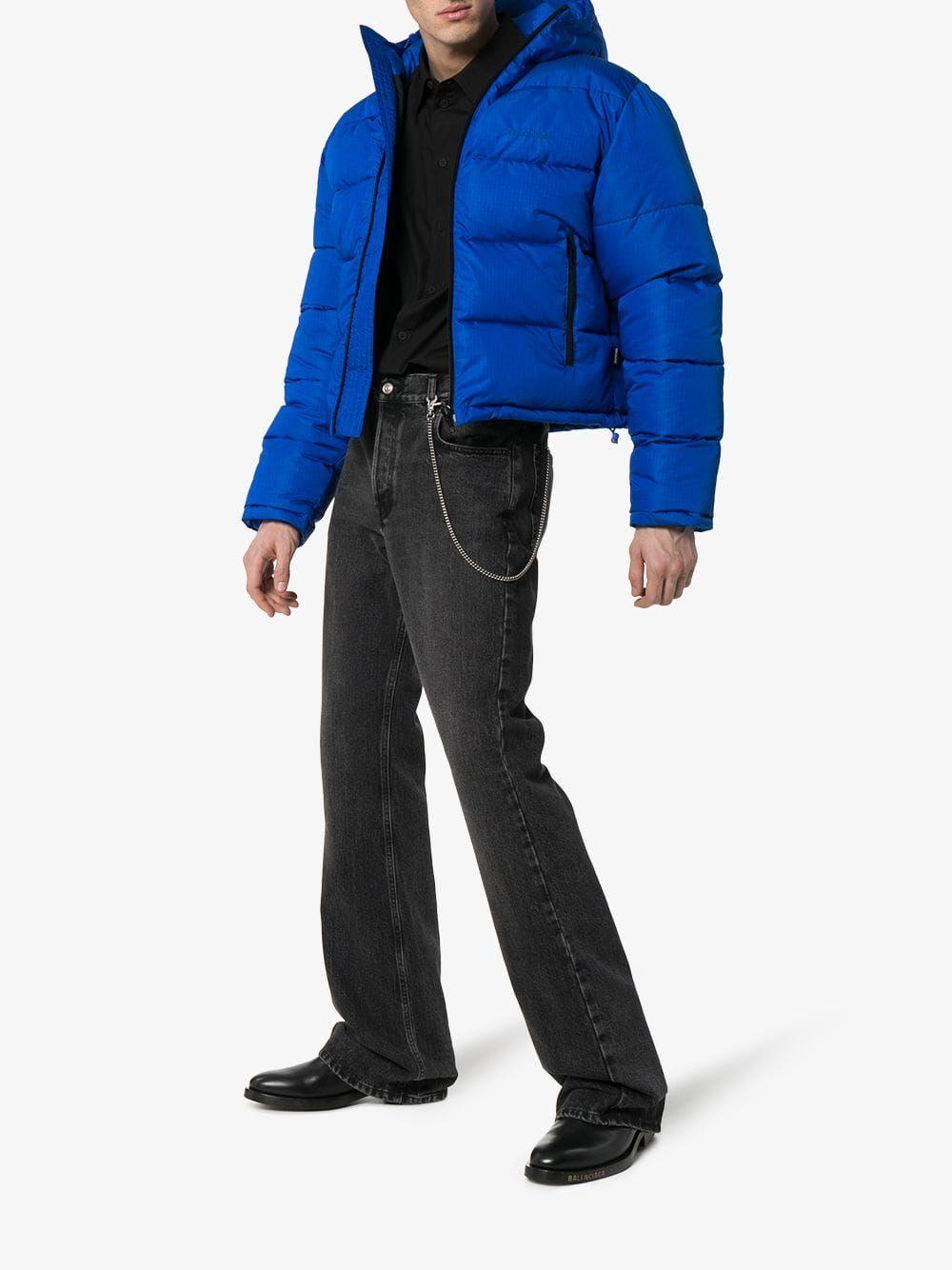 Balenciaga Balenciaga Cropped Hooded Puffer Jacket Balenciaga Cloth Jackets Puffer Jackets Cropped Puffer Jacket [ 1334 x 1000 Pixel ]