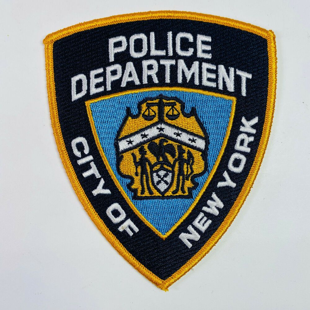New York City Police Department Nypd Patch Police Department Nypd Police