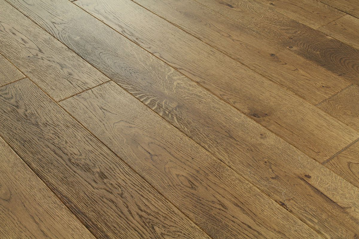 Galleria Professional Solid European Oak Flooring 130mm Mocha Wood Flooring Uk