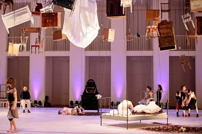 2009 Oedipus Rex Stage Design Direction And Choreography By