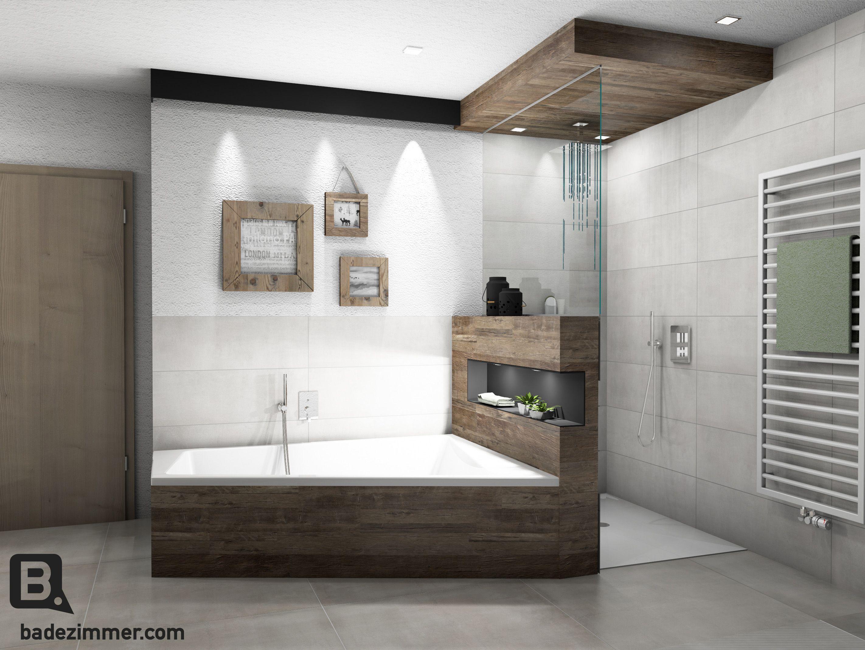 Altholz Im Bad Besonderer Blickfang Bad Inspiration Dusche Umgestalten Badezimmer