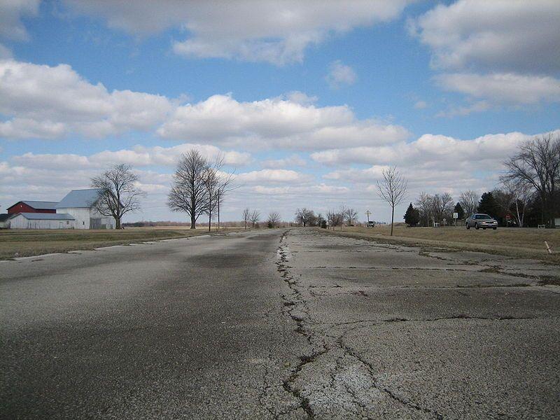 Route 66 In Towanda Illinois
