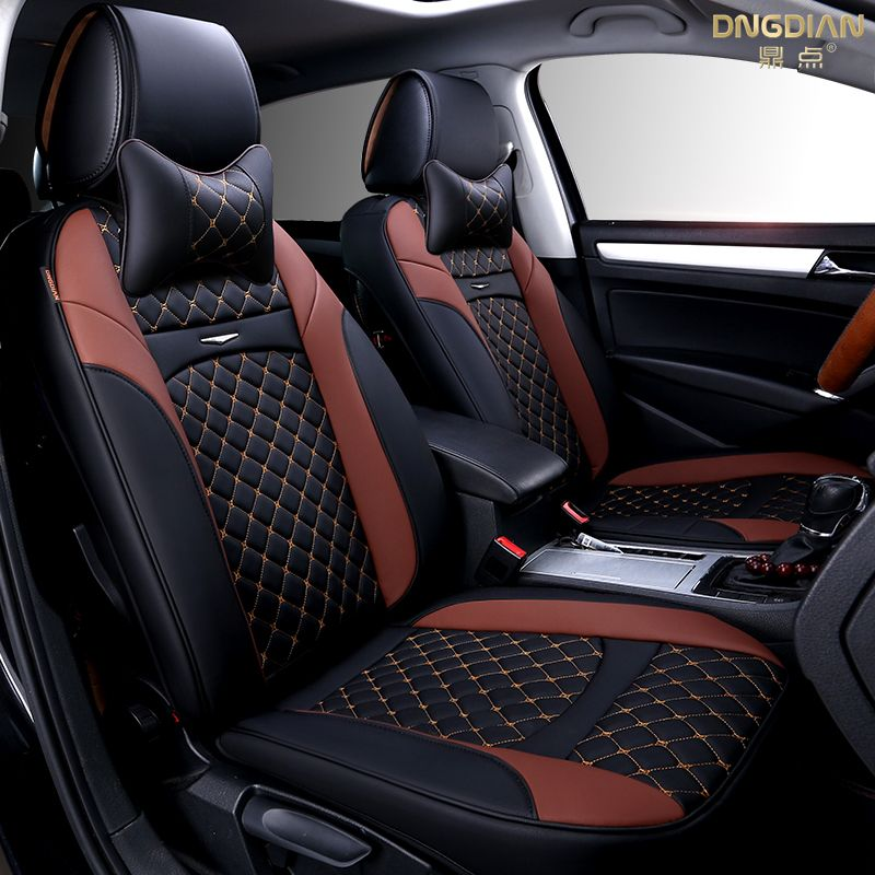 2017 New 6D Car Seat CoverSenior LeatherSport StylingCar