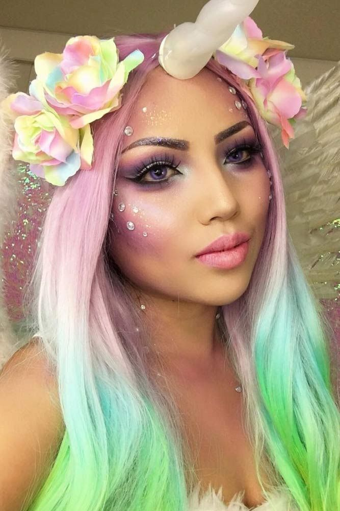 33 Sexy Halloween Makeup Looks That Are Creepy Yet Cute Pretty - cute makeup ideas for halloween