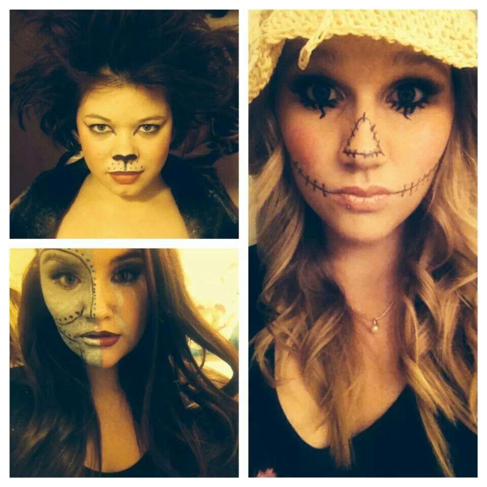 The lion, tin man, scarecrow #halloween #wizard of oz #makeup ...