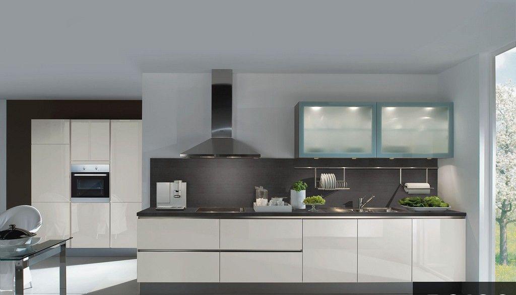 cocina blanca y mueble opaco   Casa   Pinterest   Cocina blanca ...