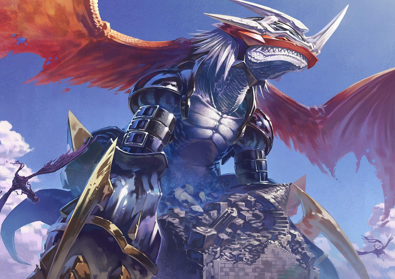 Image result for imperialdramon wallpaper   Digimon ...