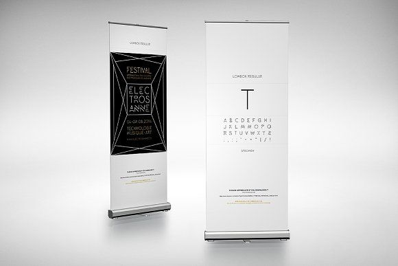Roll Up Mockup 3 By Alexvisual On Creativemarket Banner Design Banner Template Design Banner Template