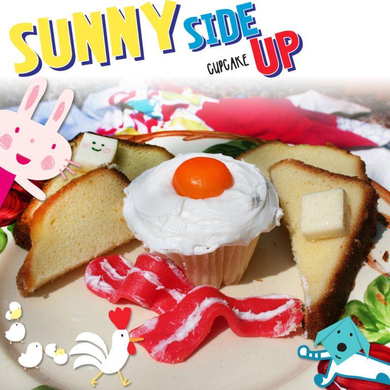 Sunny Side Up Cupcake