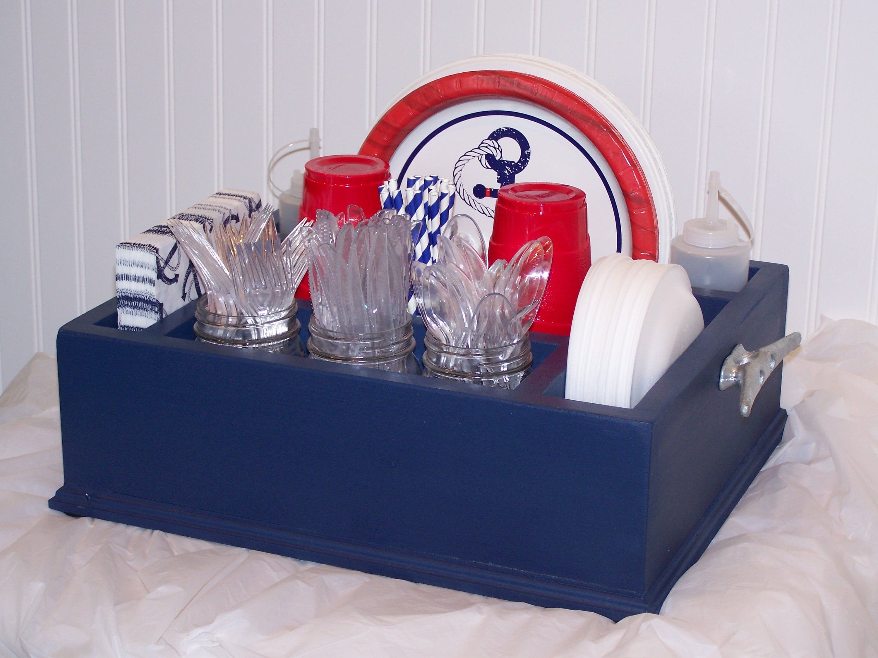 Boating Ocean Beach Nautical Themed Party Decor Disposable