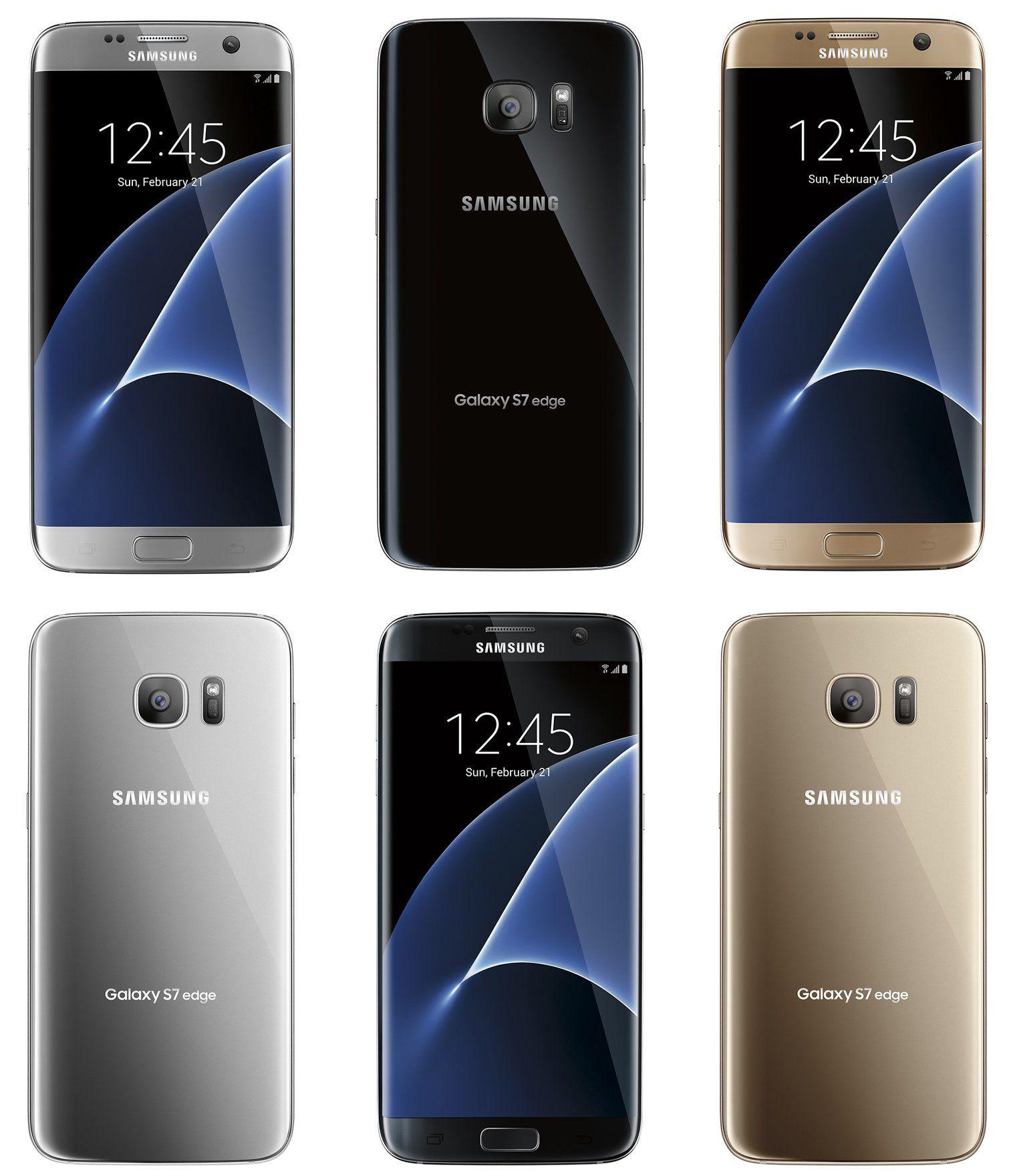 Samsung Galaxy S7 S7 Edge Renders Leak Again Samsung Galaxy S7 Samsung Galaxy Samsung Galaxy S7 Edge